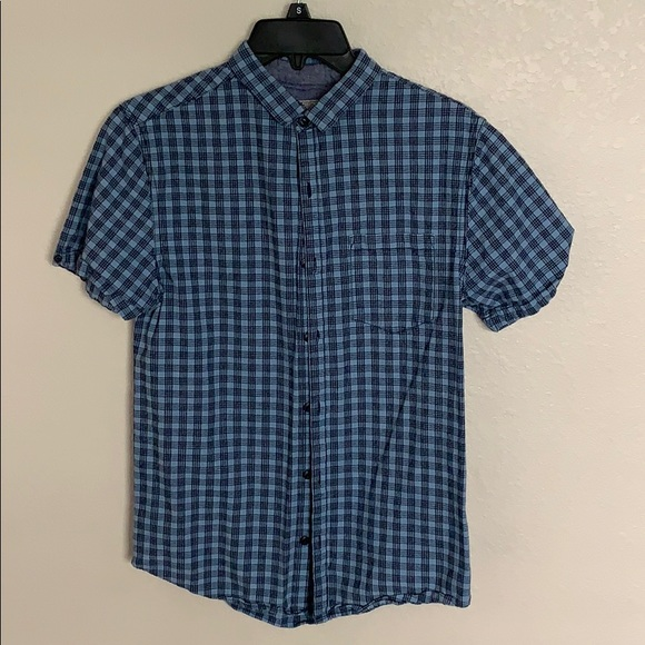 5de897a40 Shirts | Baby Blue And Navy Striped Button Up | Poshmark